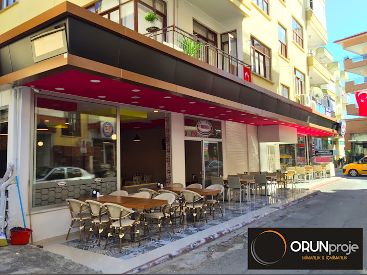 Türkmenoğlu Baklava & Dondurma ORUNproje Modern