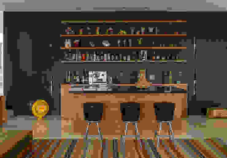 Ximenes Leite Arquitetura Ltda. Modern kitchen