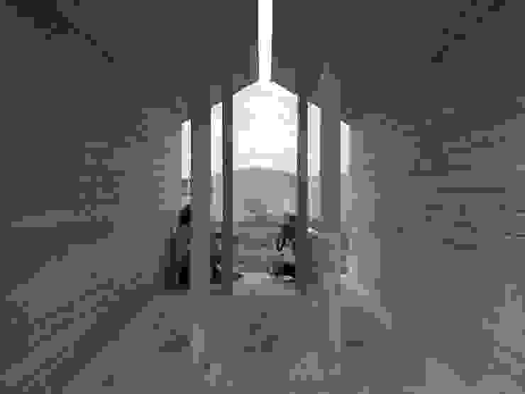 UPDATE#04 - viewpoint Jardines de estilo minimalista de sa.und.sa architetti Minimalista Madera Acabado en madera