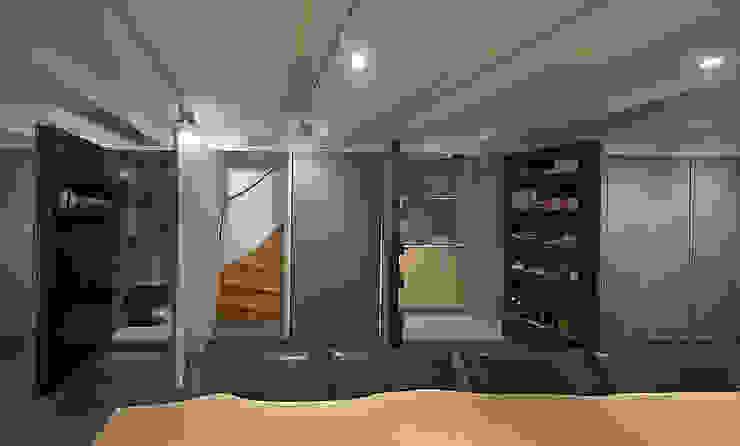 Herengracht souterrain Eclectische mediakamers van Architectenbureau Vroom Eclectisch
