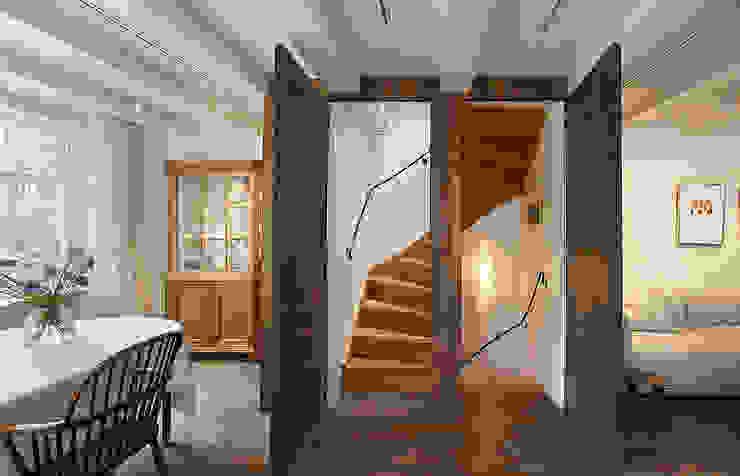 Herengracht bel étage Eclectische woonkamers van Architectenbureau Vroom Eclectisch
