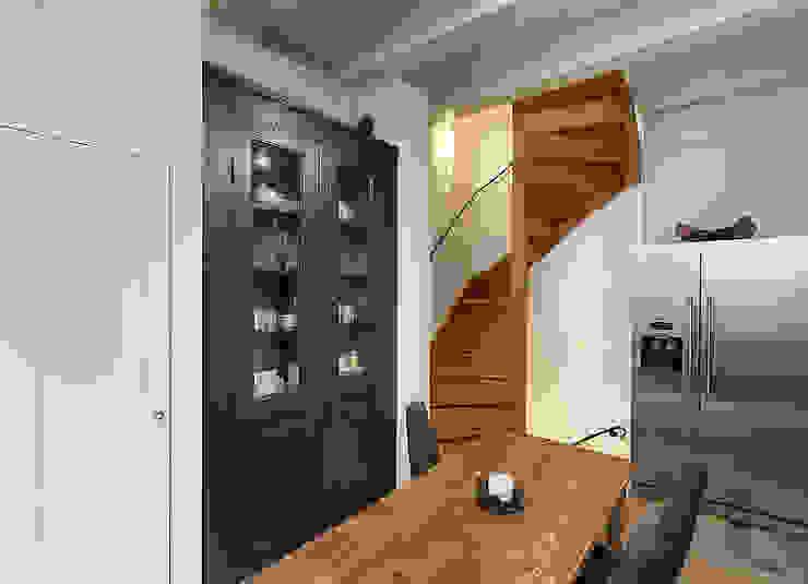 Bergstraat Eclectische keukens van Architectenbureau Vroom Eclectisch