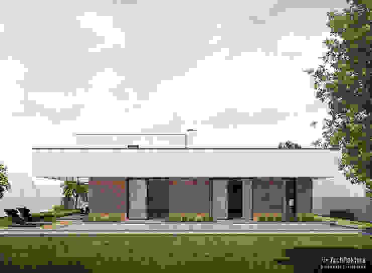Dom podmiejski | Biała Podlaska od H+ Architektura Nowoczesny