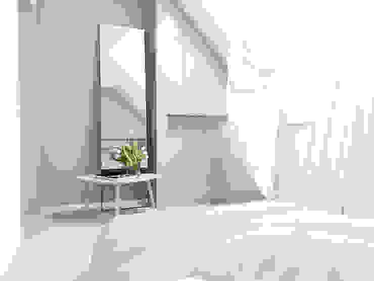 FOORMA Pracownia Architektury Wnętrz 모던스타일 침실