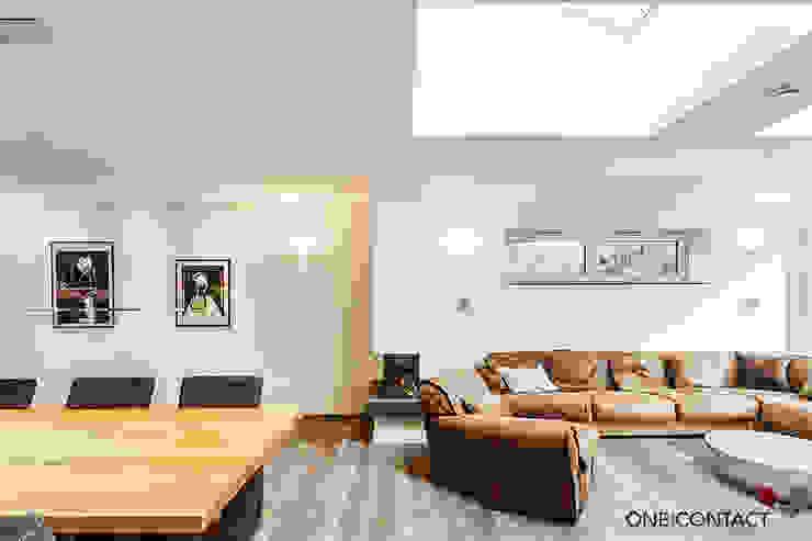 ONE!CONTACT - Planungsbüro GmbH Livings modernos: Ideas, imágenes y decoración Blanco