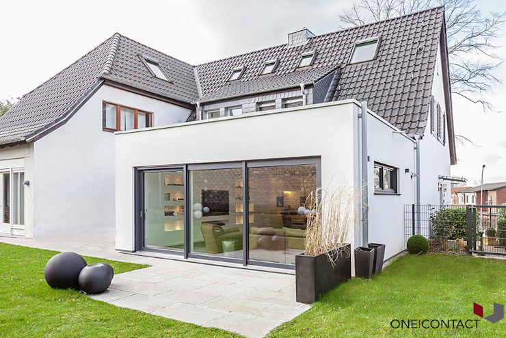 ONE!CONTACT - Planungsbüro GmbH Modern houses White