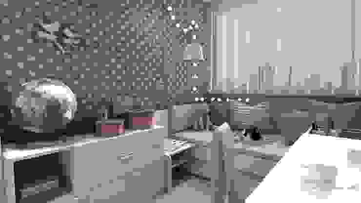 Pokój Lenki Nowoczesny pokój dziecięcy od Designbox Marta Bednarska-Małek Nowoczesny