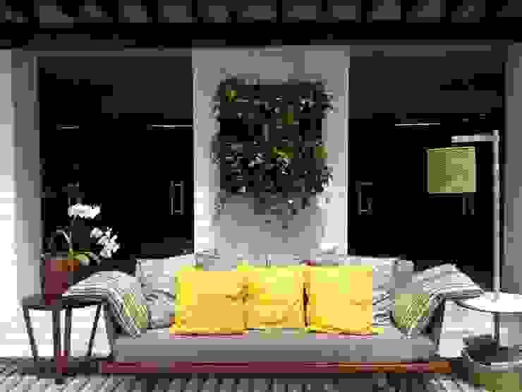 Jardines de estilo tropical de Bruno Carettoni Arquitetura Paisagística & Ecodesign Tropical
