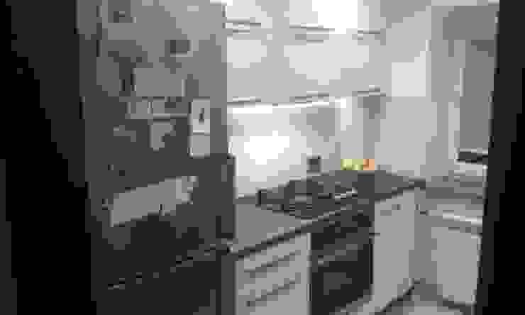 Nasze projekty 1 Nowoczesna kuchnia od F.H.U DEKOR Adam Jankowski Nowoczesny