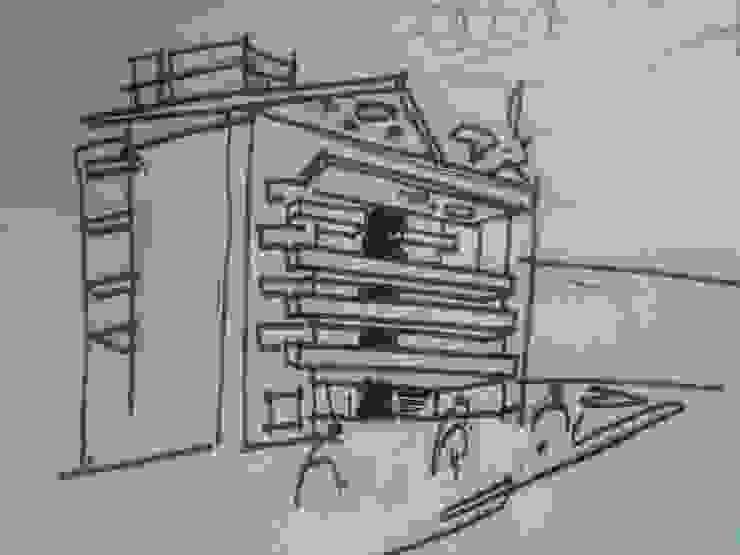 EDIFICIO DORREGO MKT Casas modernas: Ideas, imágenes y decoración de Muras Oficina de Arquitectura Moderno