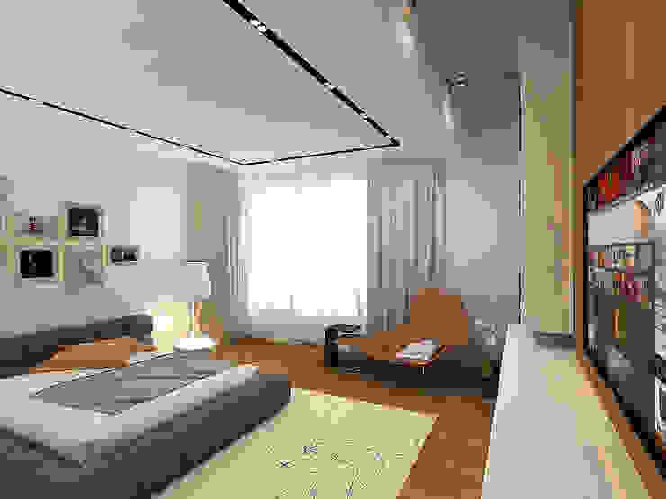 Minimalistische Wände & Böden von A-partmentdesign studio Minimalistisch Holzwerkstoff Transparent
