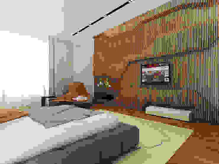 Minimalistische Wände & Böden von A-partmentdesign studio Minimalistisch Holz Holznachbildung