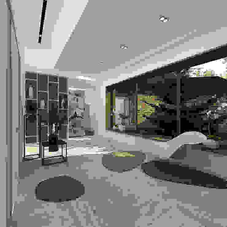 Minimalistische Wohnzimmer von A-partmentdesign studio Minimalistisch MDF