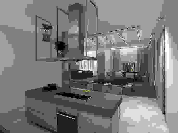Minimalistische Küchen von A-partmentdesign studio Minimalistisch Marmor