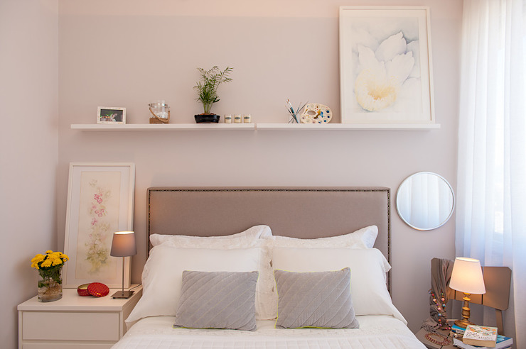 Classic style bedroom by Camila Marzulo Arquitetura Classic