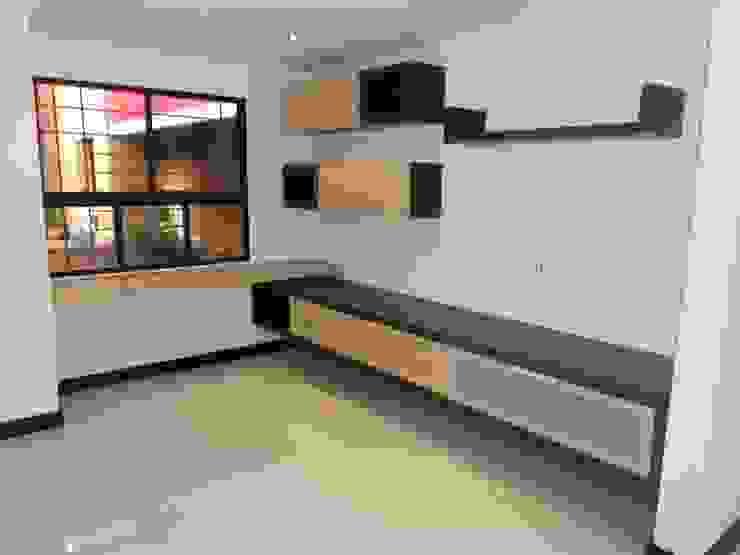 REMODELACION APTO 101 CR TORRES DEL PRADO Estudios y despachos de estilo moderno de ARQUITECTONI-K Diseño + Construcción SAS Moderno