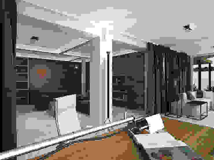 Balcone, Veranda & Terrazza in stile minimalista di A-partmentdesign studio Minimalista