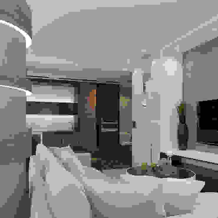 Частный дизайнер и декоратор Девятайкина Софья Modern living room Grey