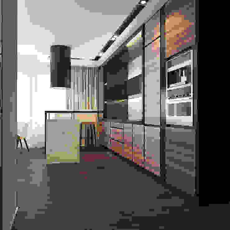 Частный дизайнер и декоратор Девятайкина Софья Modern kitchen Wood effect