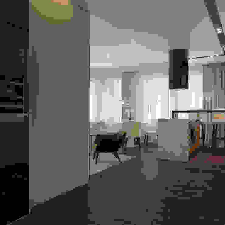 Частный дизайнер и декоратор Девятайкина Софья Modern dining room Wood effect