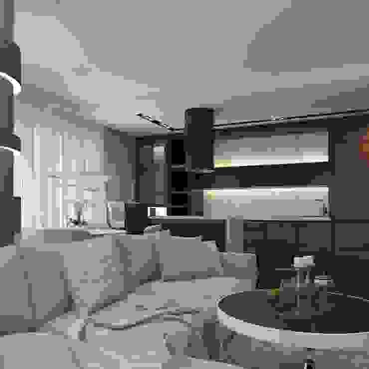 Частный дизайнер и декоратор Девятайкина Софья Modern living room