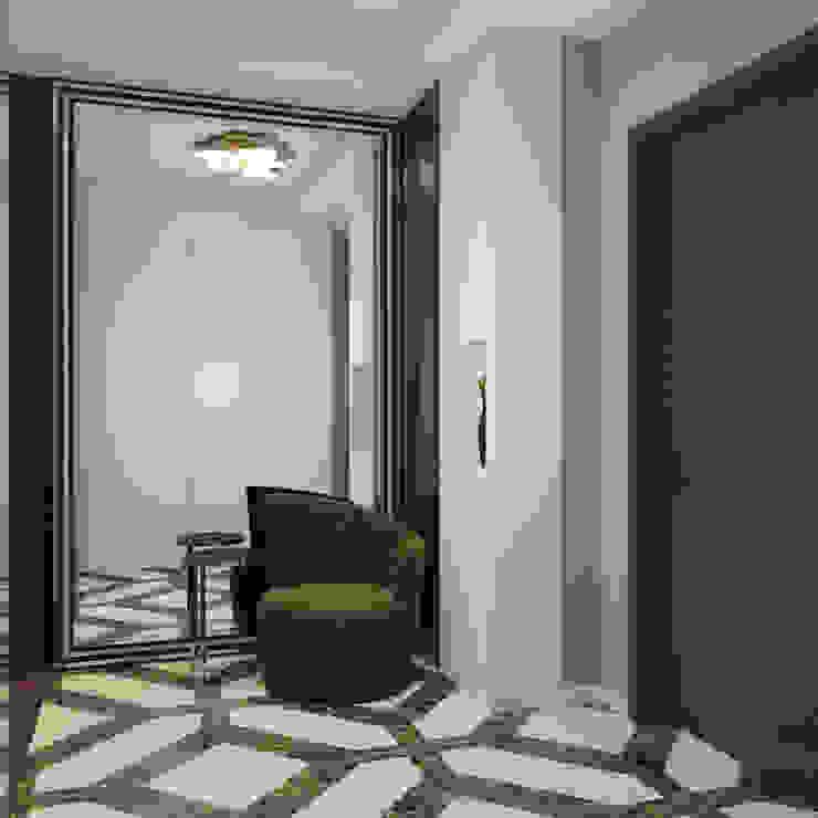 Частный дизайнер и декоратор Девятайкина Софья Modern corridor, hallway & stairs