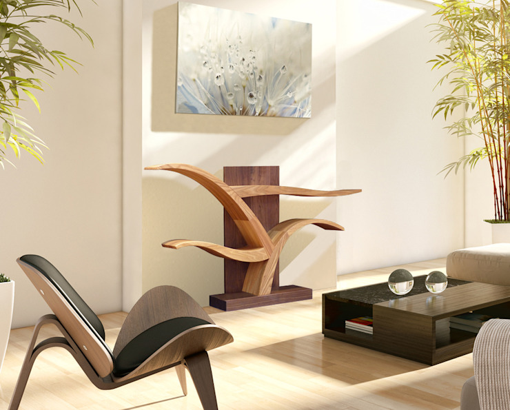modern  by BOIS MEUBLE CREATION, Modern Solid Wood Multicolored
