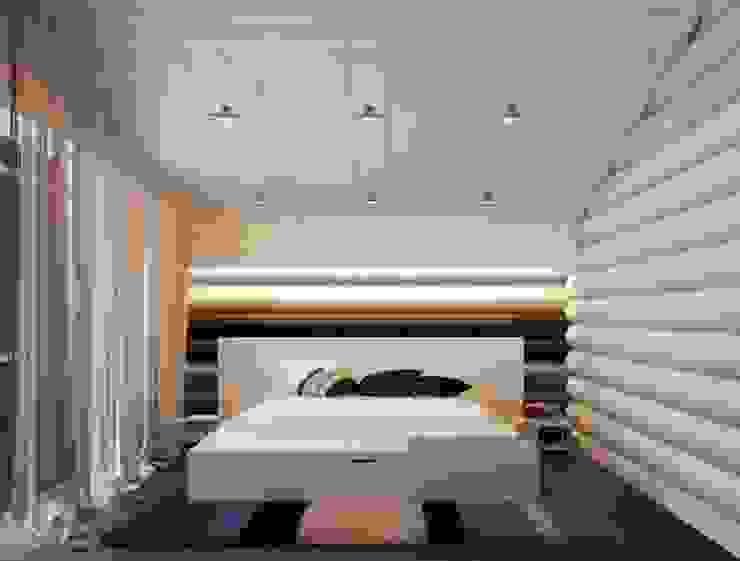 Scandinavian style bedroom by A-partmentdesign studio Scandinavian Wood Wood effect