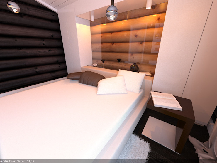 Scandinavian style walls & floors by A-partmentdesign studio Scandinavian Wood Wood effect