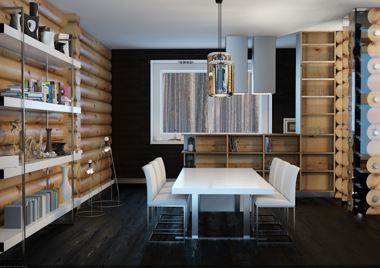 Scandinavian style kitchen by A-partmentdesign studio Scandinavian Wood Wood effect