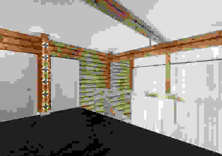 Scandinavian style corridor, hallway& stairs by A-partmentdesign studio Scandinavian Wood Wood effect