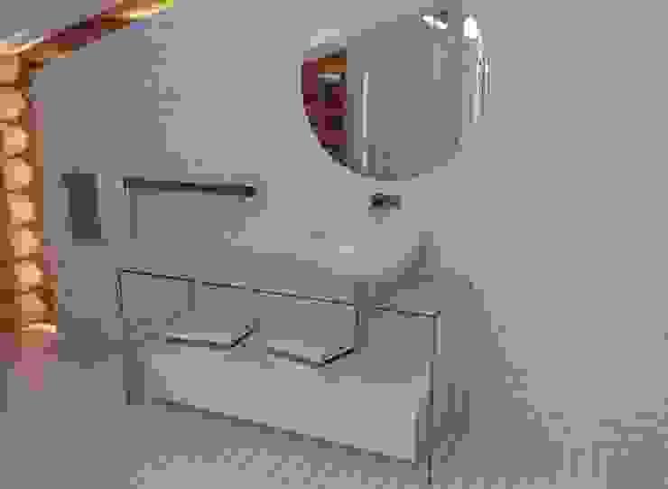 Scandinavian style bathroom by A-partmentdesign studio Scandinavian Bricks