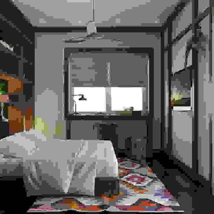 식민지스타일 침실 by Частный дизайнер и декоратор Девятайкина Софья 콜로니얼 (Colonial)
