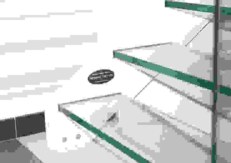 Costruzione Scale Tecno Metal Professional Welding Ingresso, Corridoio & Scale in stile moderno