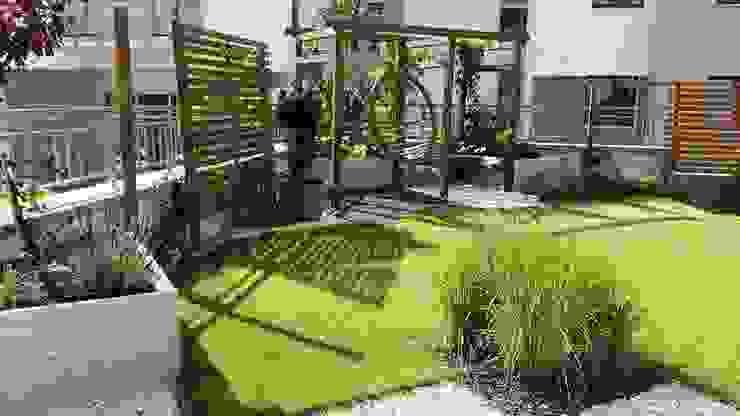 Jardines de estilo  de Ogrodowa Sceneria