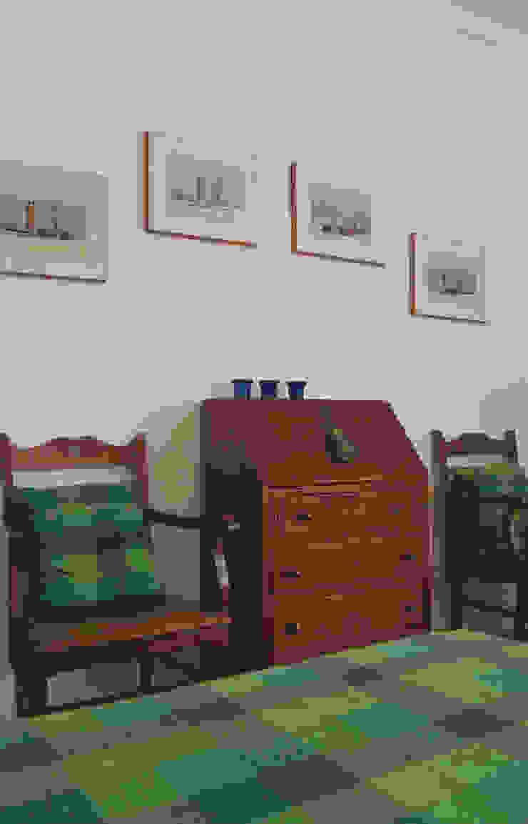 Quarto Quartos rústicos por Stoc Casa Interiores Rústico