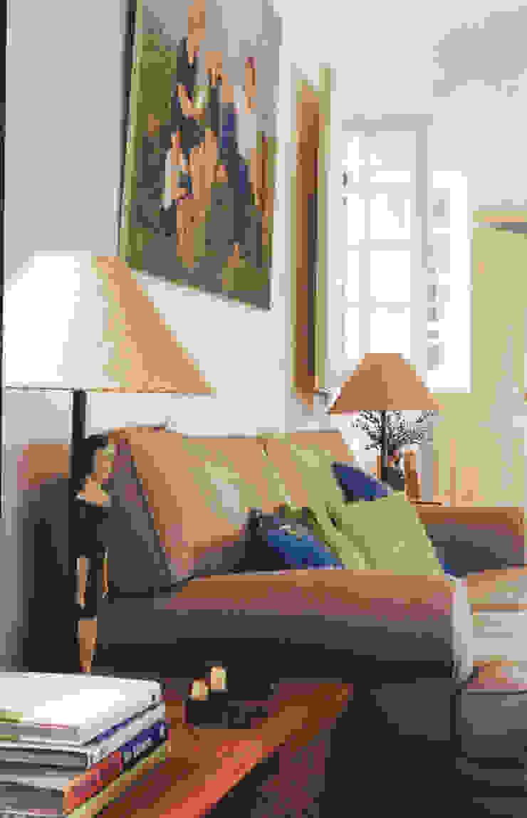 Sala de Estar Salas de estar rústicas por Stoc Casa Interiores Rústico