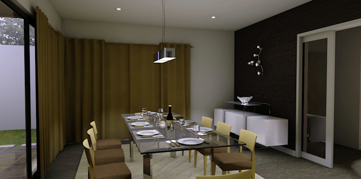 Modern Dining Room by ArqDecor Modern