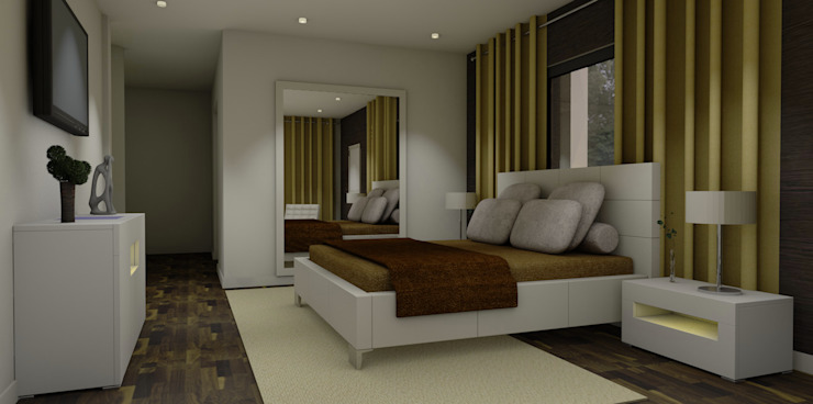 Modern Bedroom by ArqDecor Modern