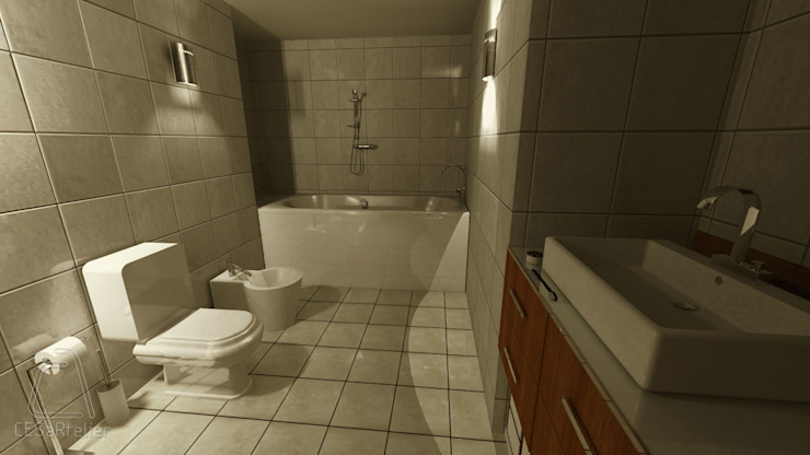 Sala de Banho por CESaRtelier