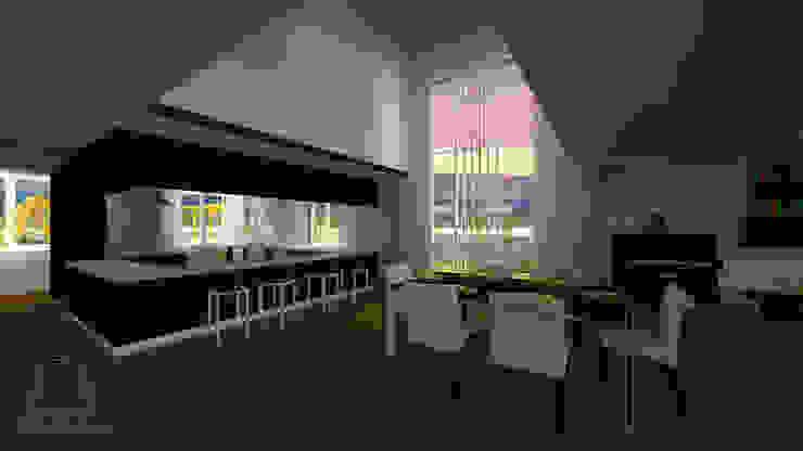 Sala de jantar e Cozinha por CESaRtelier
