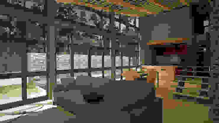 Sala de Estar, Sala de jantar e Cozinha por CESaRtelier