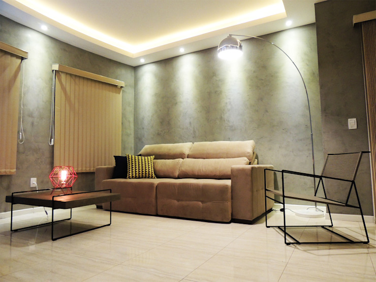 Salon moderne par Alkaa Arquitetos Associados Moderne