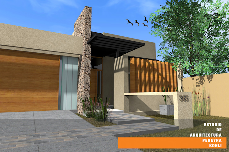 CASA GP Casas minimalistas de Estudio de Arquitectura Pereyra Kohli Minimalista