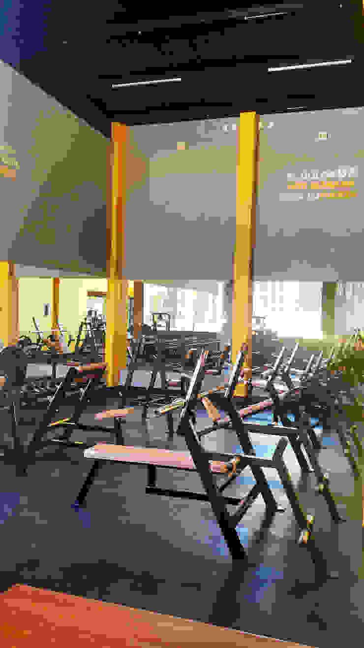 Bau-Art Taller de Arquitectura Modern gym Yellow