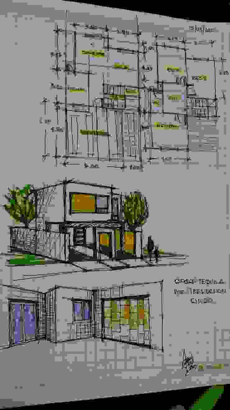 Casa Tequila de Laboratorio Mexicano de Arquitectura Minimalista