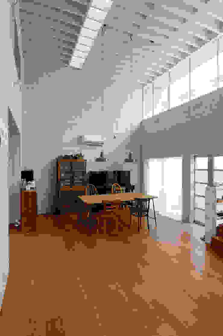 K-HOUSE モダンスタイルの 玄関&廊下&階段 の 株式会社長野聖二建築設計處 モダン
