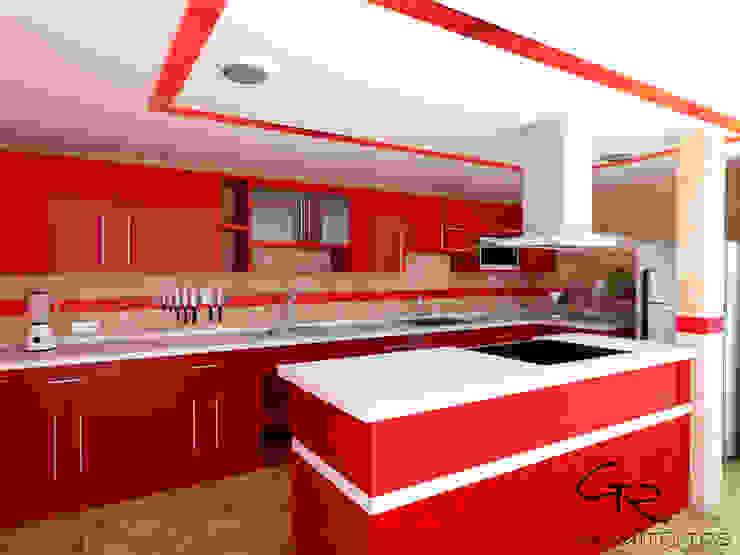مطبخ تنفيذ GT-R Arquitectos ,