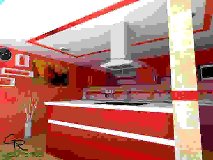 GT-R Arquitectos ห้องครัว