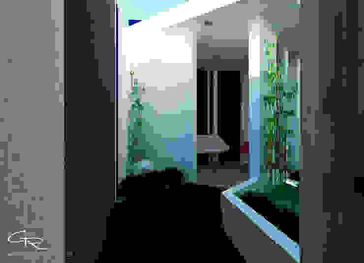 Giardino moderno di GT-R Arquitectos Moderno